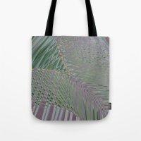 Trippy Pastel Palm Tote Bag