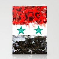 Pray For Syria Stationery Cards