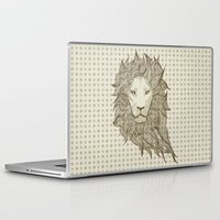 lion Laptop & iPad Skins featuring Lion by Vickn