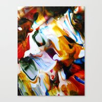 Fangled Canvas Print