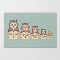 Hoot! Canvas Print