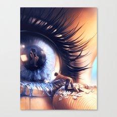 Show me love Canvas Print