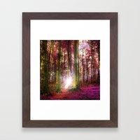 Range The Autumn Woods Framed Art Print