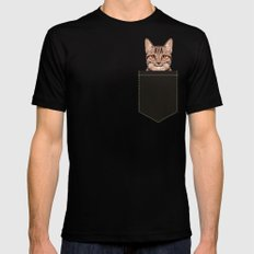 Ripley - Tabby Cat cute cat gifts for cat people and cat lady gift ideas for the cat lover  Mens Fitted Tee Black SMALL
