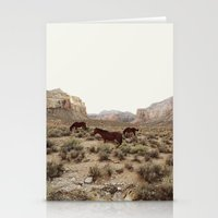 Hualapai Hilltop Horses Stationery Cards