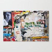 Urban collage Canvas Print
