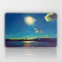 Sunshine At The Black Se… Laptop & iPad Skin
