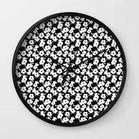 Mod Flower Wall Clock