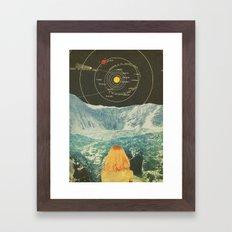 Orbitando  Framed Art Print