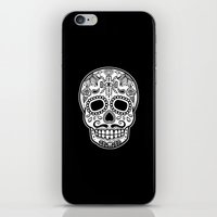 Mexican Skull - Black Edition iPhone & iPod Skin