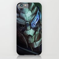 iPhone Cases featuring Mass Effect: Garrus Vakarian by Ruthieee