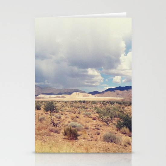 Desert 2 Stationery Card