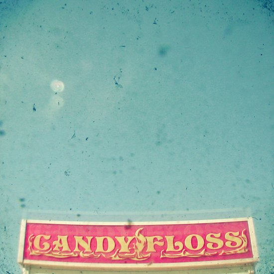 Pink Candy Floss Art Print
