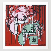 Graffiti Style Character… Art Print