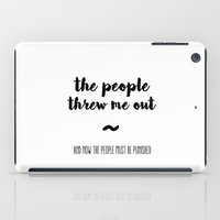 The people iPad Case