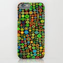 Colorful dots iPhone & iPod Case