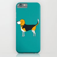 iPhone & iPod Case featuring Beagle by MaJoBV