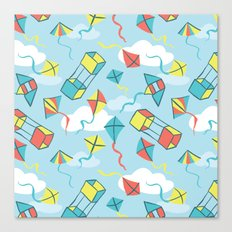 Go Fly a Kite Canvas Print