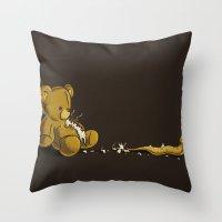 Adoraburst Throw Pillow