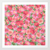 Flora Collage I Art Print