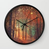 Forest1 Wall Clock