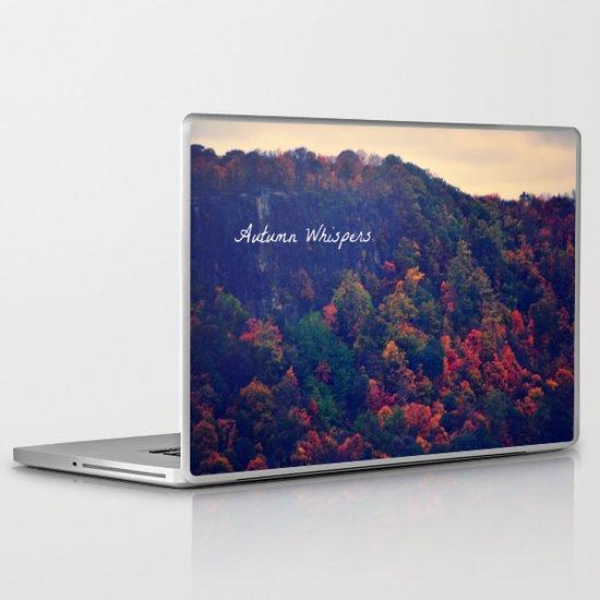 Autumn Whispers Laptop & iPad Skin