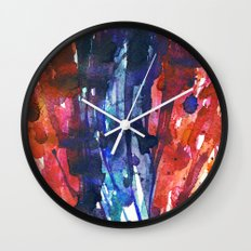 Aquarella Wall Clock