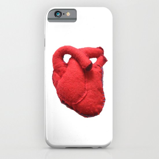 Anatomical heart iPhone & iPod Case