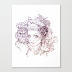 Felt Heart Canvas Print