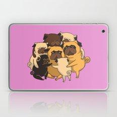 Pugs Group Hug Laptop & iPad Skin