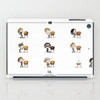 Little Halloween Pumpkin Contest iPad Case