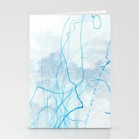 Fire Line Stationery Cards