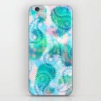 Anushka Paisley Mint iPhone & iPod Skin