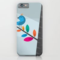iPhone & iPod Case featuring Blue Bird by Volkan Dalyan