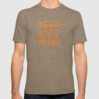 Roald Dahl On Positive T… Mens Fitted Tee Tri-Coffee SMALL