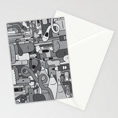 Pile de Monstres - Black/White Stationery Cards