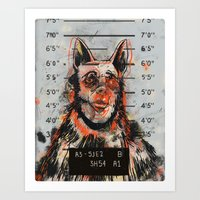 Waldick Dogman Art Print
