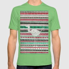 Lost in Romania Mens Fitted Tee Grass SMALL