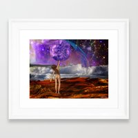 There It Is Framed Art Print
