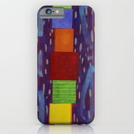 Colourful Piled Cubes Wi… iPhone 6 Slim Case