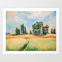 Eternia Field Art Print