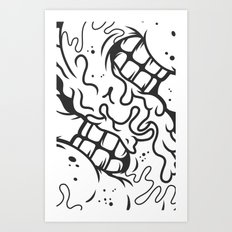 S is for Smile Art Print