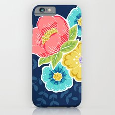 Floral Beauty - Midnight Slim Case iPhone 6s