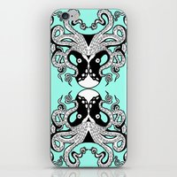 Octopus Mirrored iPhone & iPod Skin