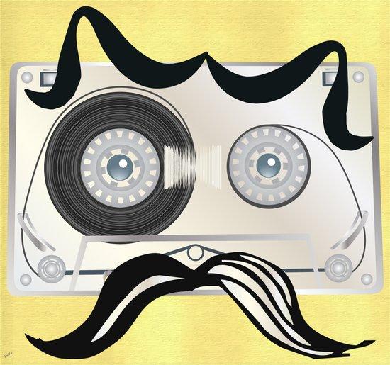 Tape Masculine Art Print