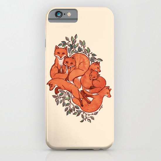Fox Tangle iPhone & iPod Case