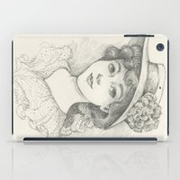 Sketch of an Edwardian Lady iPad Case