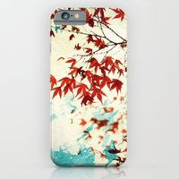 iPhone & iPod Case featuring Automne Rouge by Marc Loret