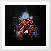 iron man Art Prints featuring IRON MAN iron man by alifart