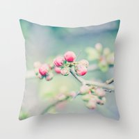 And Buds Thrive... Throw Pillow